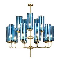 люстра Glass Tube Chandelier 15