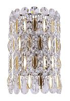 Бра Crystal Lux LIRICA AP2 CHROME_GOLD