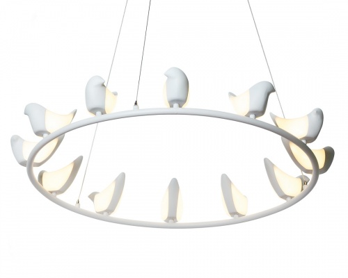 Люстра creative bird chandelier 12r
