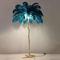 Торшер the feather floor lamp